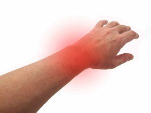 腱鞘炎悪化のイメージ