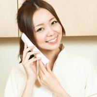 電話相談の女性
