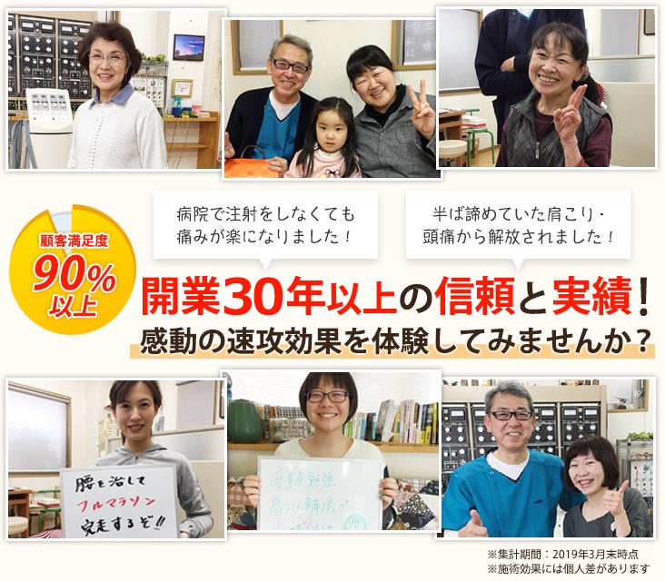 名古屋市中村区の整体なら顧客満足度90%以上の渡辺接骨院にお任せください!