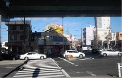 名古屋市中村区畑江通り岩塚交差点