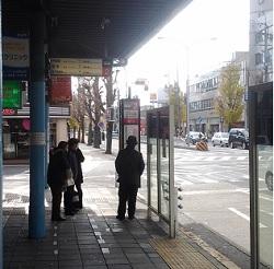 地下鉄東山線中村公園駅バスターミナル