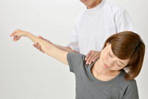 肩関節のチェック