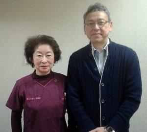 横山会長と私